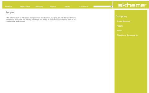 Screenshot of Team Page skheme.com - About Skheme - captured Oct. 7, 2014