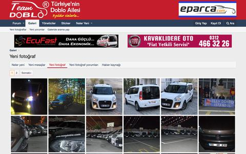 Screenshot of Press Page teamdoblo.com - Yeni fotoğraf | Team Doblo - captured Nov. 19, 2018