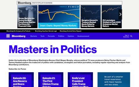 Screenshot of bloomberg.com - Bloomberg - captured Oct. 20, 2016