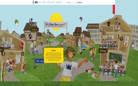 Screenshot of Home Page beweeg.nl - Beweeg.nl | De uitgeverij, gespecialiseerd in gezondheidseducatie voor kinderen. - captured Oct. 6, 2014