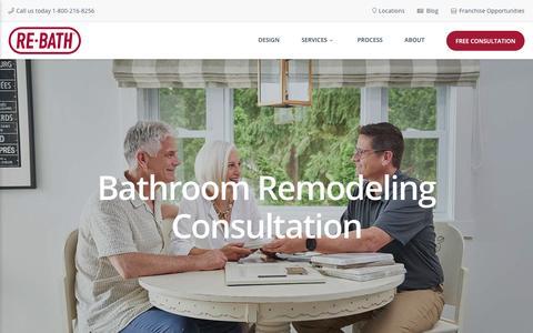 Screenshot of Locations Page rebath.com - Bathroom Remodels | Expert Design and Remodeling | Re-Bath - captured Nov. 7, 2018