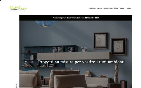 Screenshot of Home Page devincenti.it - Devincenti - captured Nov. 14, 2018