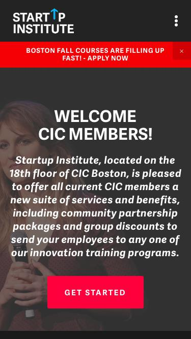 CIC: Business Services | Startup Institute