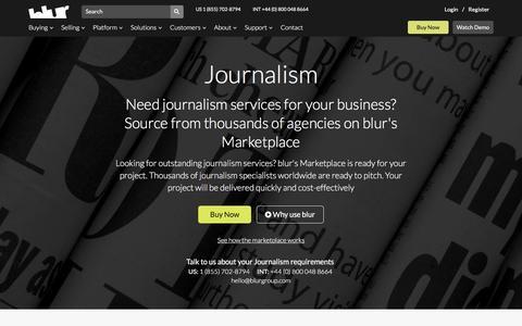 Independent Journalist | blur Group