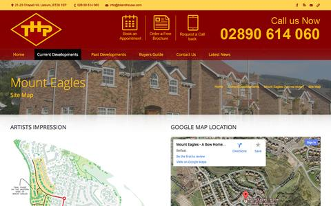 Screenshot of Site Map Page tolandhousepropertieslimited.com - The Toland House Group |   Site Map - captured Oct. 28, 2014