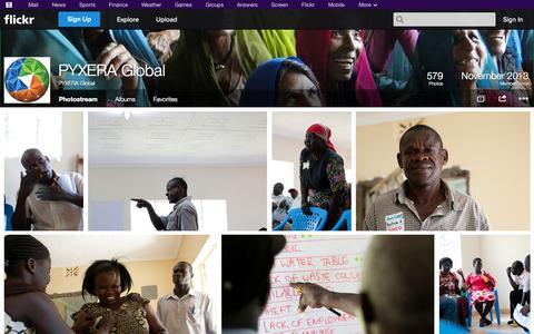 Screenshot of Flickr Page flickr.com - Flickr: PYXERA Global's Photostream - captured Oct. 26, 2014