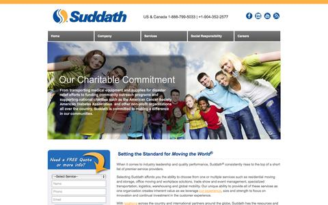 Moving Companies - Long Distance Movers | Suddath®