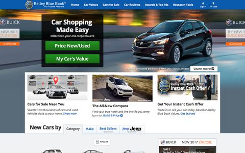Kelley Blue Book - New and Used Car Price Values, Expert Car Reviews