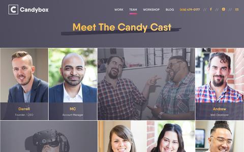 Meet The Candy Cast - Candybox Marketing