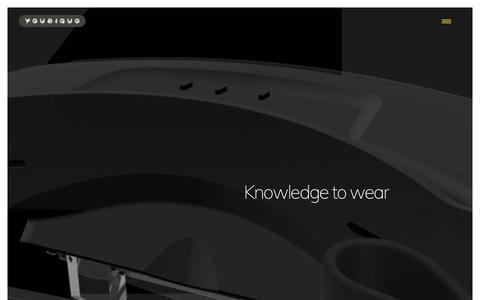 Screenshot of Home Page youbiquo.eu - Youbiquo - captured July 26, 2018