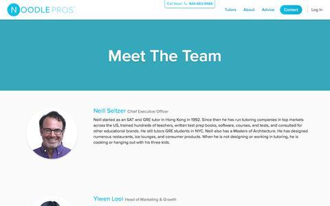 Meet The Team | Noodle Pros
