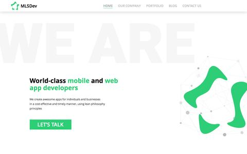 Web and Mobile App Development Company | MLSDev