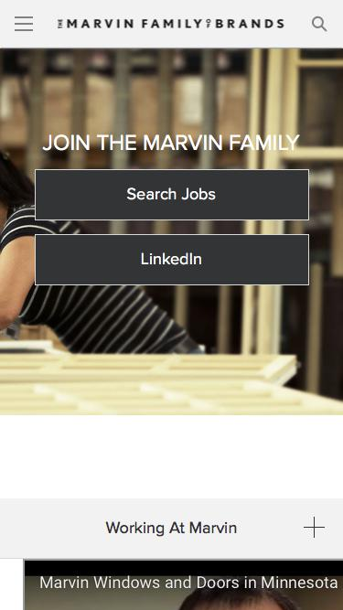 Marvin Window & Door Careers | Marvin Family of Brands