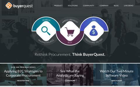 Home - BuyerQuest