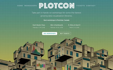 PLOTCON | Plotly Montréal: Dash, R, and SQL Workshops