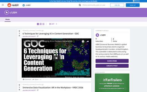 UBM - Universal Business Media