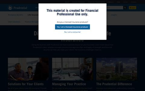 Life Insurance - Advisors | Prudential Financial