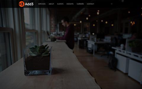Digital Marketing Agency - Add3 | Seattle & Portland