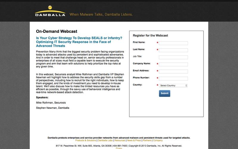 Webcast: Uncovering Advanced Threats Using Network-based Threat Intelligence
