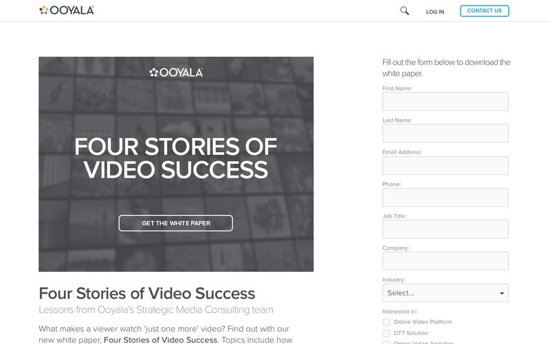 Four Stories of Video Success