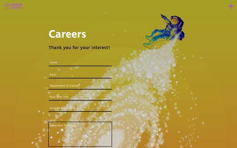 Screenshot of Jobs Page peoplepattern.com - People Pattern | Careers - captured Feb. 15, 2018