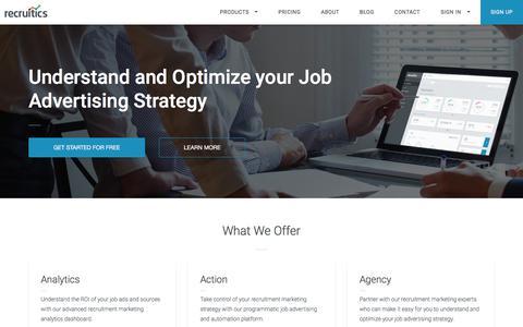 Recruitics | Recruitment Marketing Analytics and Automation