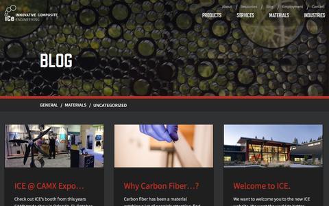 Screenshot of Blog innovativecomposite.com - Blog • Innovative Composite Engineering - captured Nov. 3, 2014