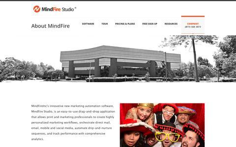 Screenshot of Team Page mindfirestudio.com - Meet the MindFire Team - MindFire Studio - captured Oct. 7, 2014