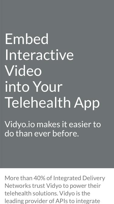 HIPAA Telehealth Video Conferencing Development