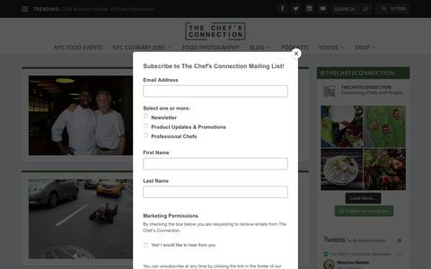Screenshot of Blog thechefsconnection.com - Blog | The Chef's Connection - captured Sept. 21, 2018