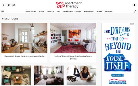 Video Tours | Apartment Therapy