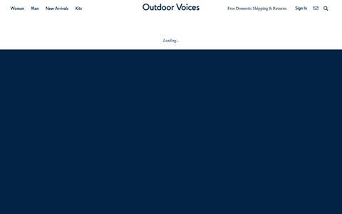 Man Bottoms – Outdoor Voices