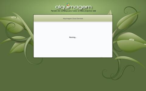 Screenshot of Home Page alquimagem.com - Alquimagem Cloud Services | Criação de Sites Websites Webdesign Soluções Internet E-Commerce - captured Oct. 4, 2014