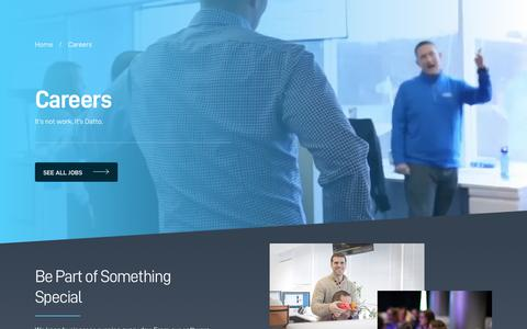 Screenshot of Jobs Page datto.com - Datto Careers - captured June 20, 2018