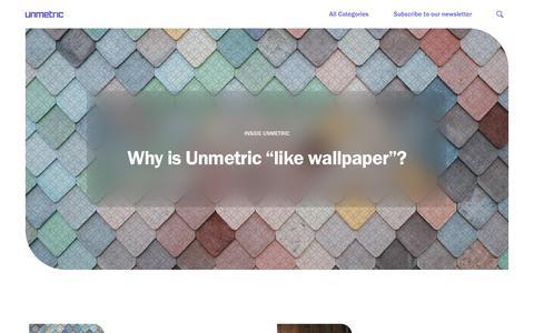 Screenshot of Blog unmetric.com - (2) New Messages! - captured July 21, 2019