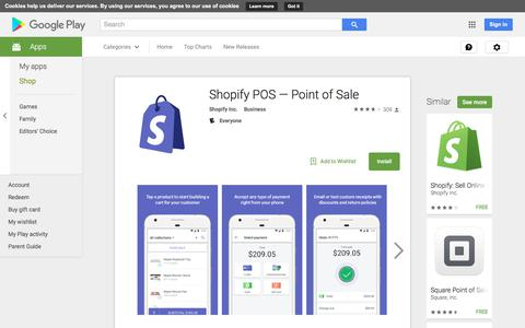 Shopify POS — Point of Sale - Android Apps on Google Play