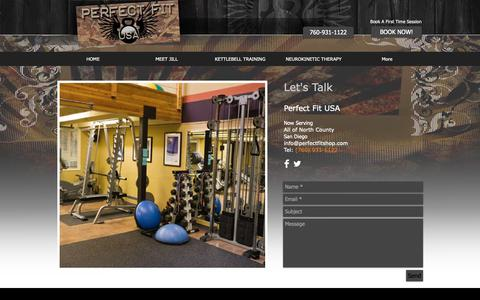 Screenshot of Contact Page Signup Page perfectfitshop.com - perfectfitshop | SIGN UP - captured Sept. 27, 2018