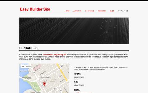 Screenshot of Contact Page homecookhero.com.au - Contact Us - captured July 15, 2016