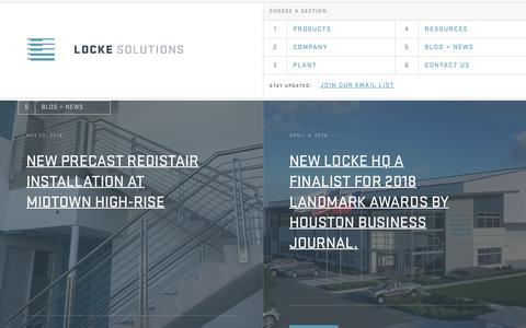 Screenshot of Blog lockesolutions.com - Blog - Locke Solutions - captured July 22, 2018