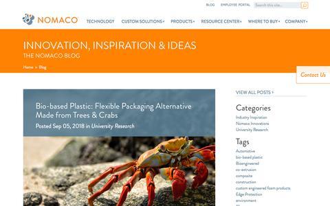 Screenshot of Blog nomaco.com - Blog - Nomaco - captured Sept. 20, 2018