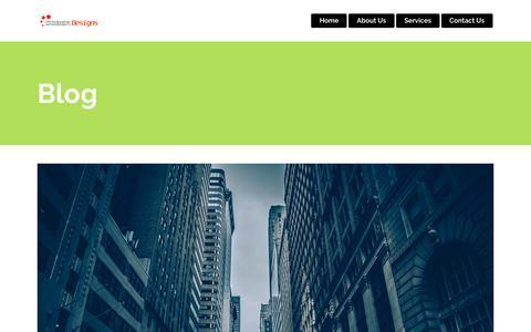 Screenshot of Blog soberdesigns.com - Blog – Sober Designs - captured July 14, 2018