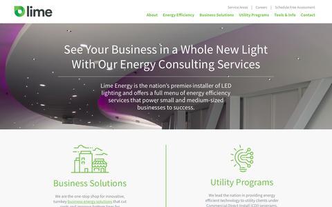 Home - Lime Energy