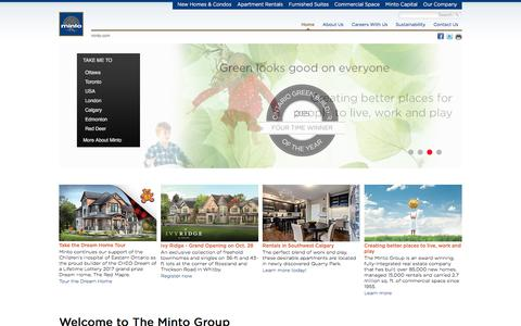 New homes and condos for sale | Minto Group Inc.