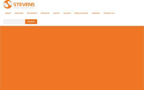 Screenshot of Jobs Page stevensec.com - Careers – Stevens Engineers & Constructors - captured Oct. 18, 2018