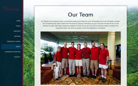 Screenshot of Team Page novictoraviation.com - Our Team | Novictor Aviation - captured Oct. 9, 2014