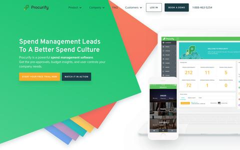 Procurify - Spend Management Made Ridiculously Easy