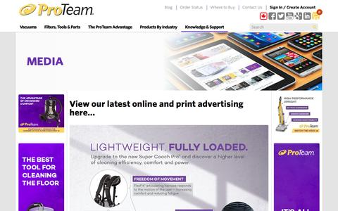 Screenshot of Press Page emerson.com - Media - captured Nov. 30, 2016