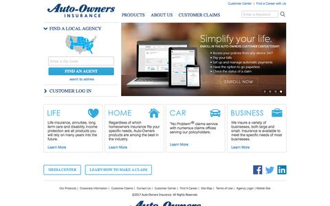Auto-Owners Insurance   Providing  Life, Home, Car,  Business Insurance