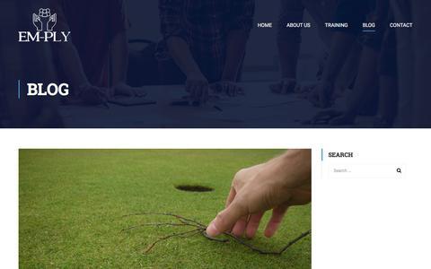 Screenshot of Blog em-ply.com - Blog – EM-PLY - captured Sept. 25, 2018
