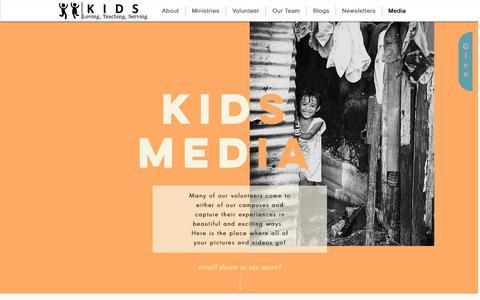 Screenshot of Press Page kidsim.org - kidsim | Media - captured Oct. 15, 2018